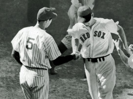1941: Joe DiMaggio beat out Ted Williams for the MVP