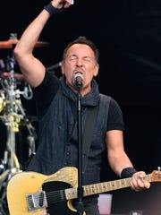 Bruce Springsteen performs in Switzerland on July 31.