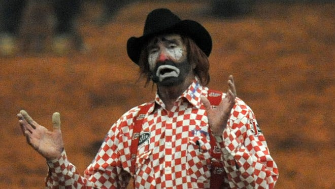 Mississippi rodeo clownLecile Harris died following his final performance at the55thDixie National Rodeo and Livestock Show in Jackson.