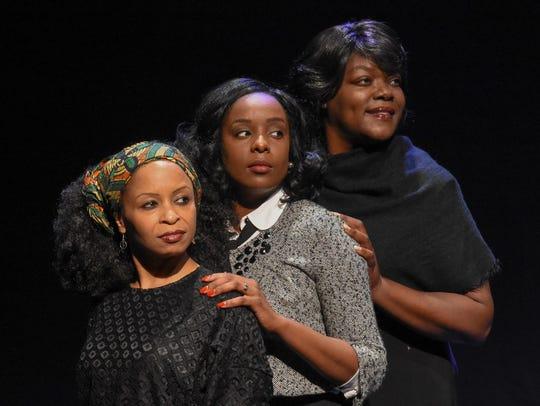 Kenyata White, Ebony Gammage and Jennifer Robinson