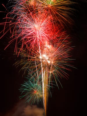 The 2017 Fireworks Extravaganza lit up the sky with huge eight inch shell bursts, but this year's 40th Anniversary Celebration promises to be bigger and better.
