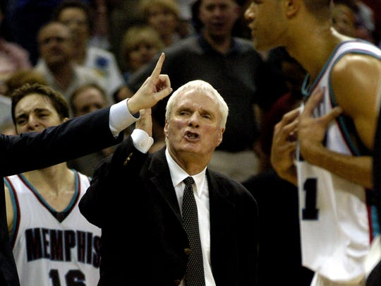 Hubie Brown, head coach, 2002-2004 Record: 83-85
