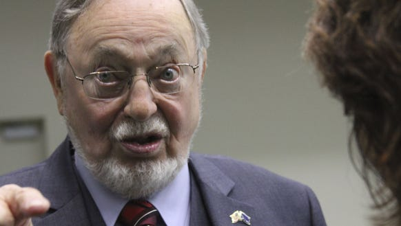 This photo from October 17, 2016 shows US Representative Don Young