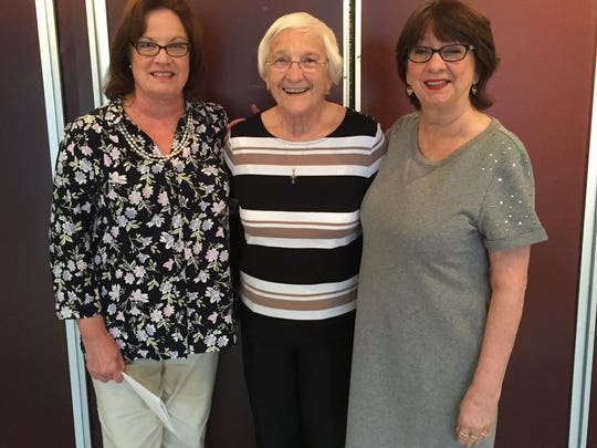 Left to right: Noreen Andrews, Internal Coordinator & Assistant Principal, Sister Percylee Hart, RSM, Principal, and Barbara Dellanno, Internal Coordinator & Dean of Academics & Faith-Formation