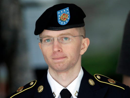 AP CHELSEA MANNING PRISON CHARGES A FILE USA MD