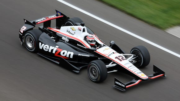 Verizon is the full-season sponsor of Will Power's car at Team Penske