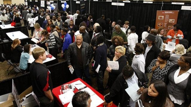 Memphis Urban League held a job fair at Hilton Memphis.