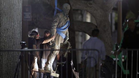 UT Austin Confederate statues
