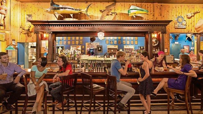 The landmark Blueberry Hill Café.
