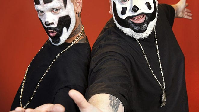 The Insane Clown Posse will perform live in concert at 6 p.m. today at Vinyl Music Hall.