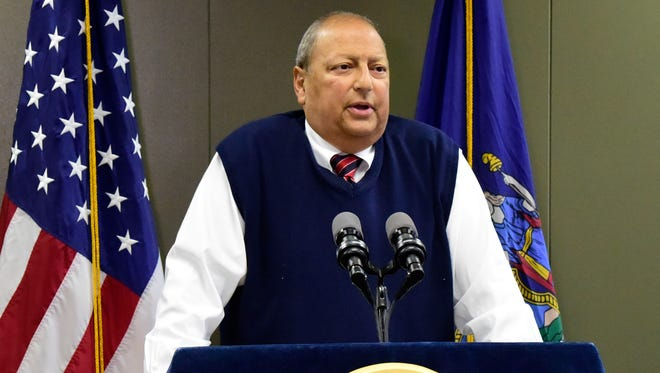 State Sen. Thomas Libous, R-Binghamton, said the casino-siting board made a mistake overlooking the Southern Tier.