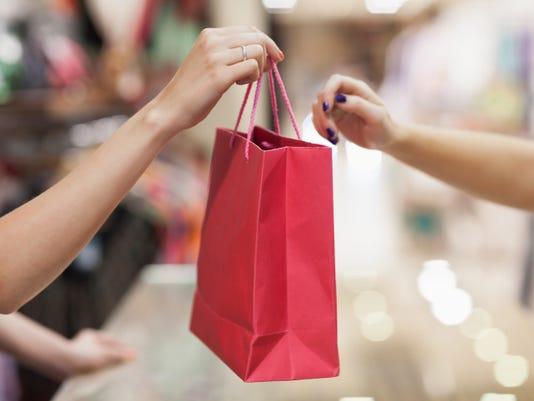 STOCKIMAGE shopping holiday Christmas