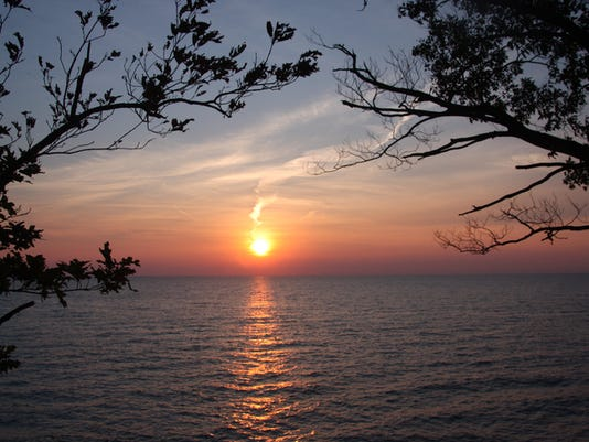 Sunset - Lake Erie,New York