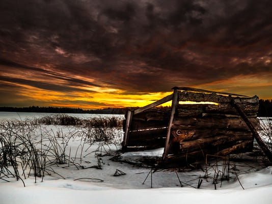 Snow Blind Sunset