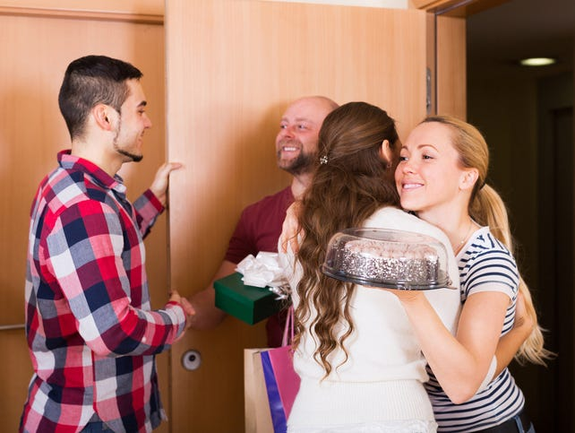 Tips for keeping the peace and getting along when holiday guests arrive.