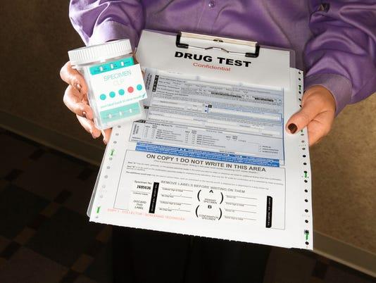 Generic Stock Image - Drug Test