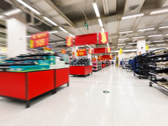 supermarket aisle Motion Blur background
