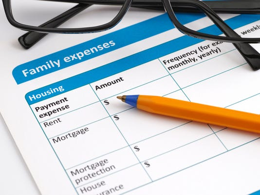Family expenses application form