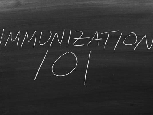 Immunization 101 On A Blackboard
