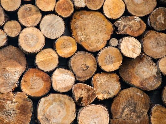 Firewood. Wood
