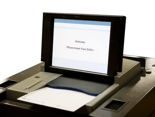 Optical Scan Voting Machine