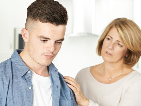 Mother Worried About Unhappy Teenage Son