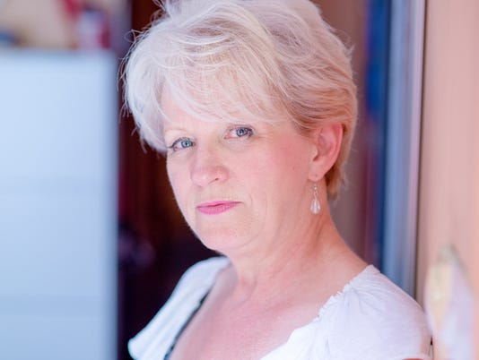 Pensive senior woman, Mature Beauty - Worried