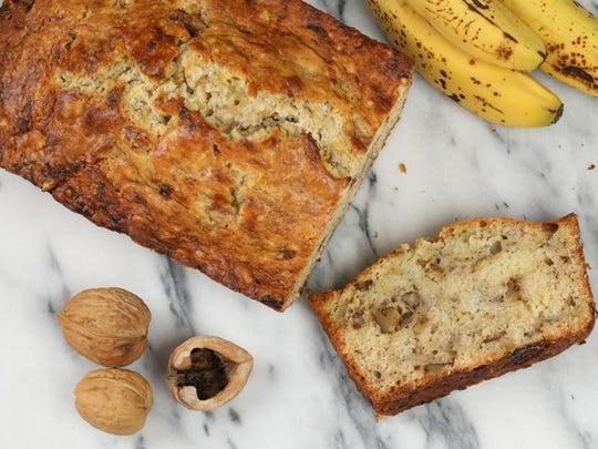 A simple banana bread recipe is the perfect platform for adding nuts, chocolate chips or whatever else you desire.