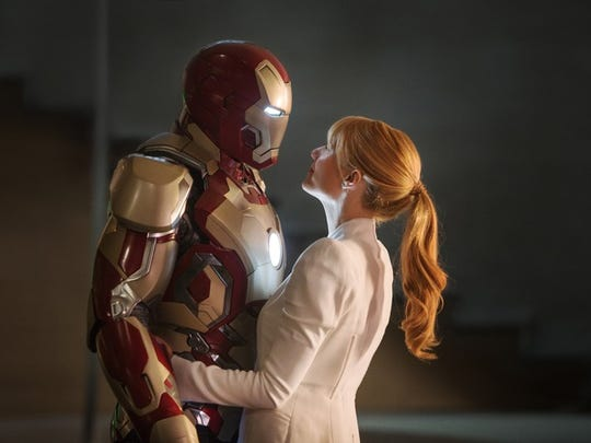 """Iron Man 3,"" starring Robert Downey Jr. and Gwyneth Paltrow, earned $409 million."