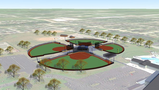 The Manitowoc Youth Baseball Association has started a campaign to raise money for a new 4-plex youth baseball complex at Citizen Park in Manitowoc