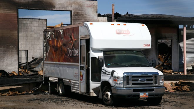 The Frito-Lay warehouse on 1210 West in St. George was destroyed in a fire over the weekend. Investigators are still working to determine the cause of the blaze.