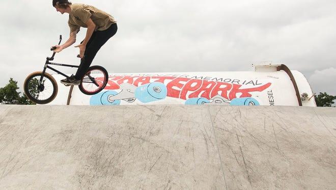 Reid Menzer Skatepark.  File photo.