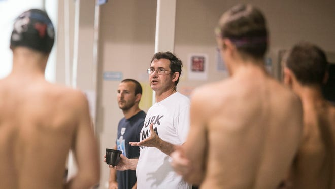 York YMCA Swim coach Michael Brooks will leave the club after 10 years with the program to take over as head coach at the North Carolina Aquatic Club and as a part-time assistant coach for the University of North Carolina. Amanda J. Cain photo