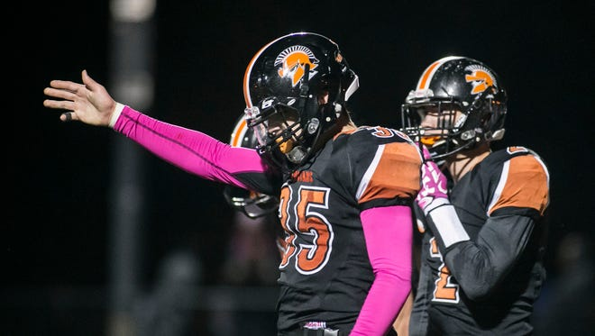 Peter Groncki (left) and York Suburban enter 2017 as two-time defending Division II champs. Division II is again a toss-up entering the year as the Trojans look to win a division title for a third consecutive year for the first time in program history. Amanda J. Cain photo