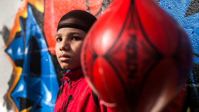 York's Antwoine Dorm Jr. has returned form a boxing tournament in Missouri with a championship.