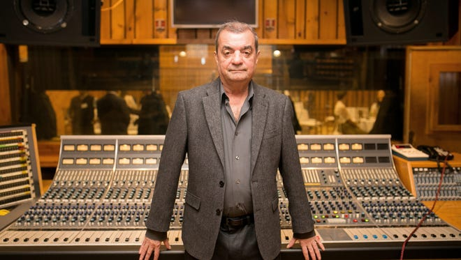 Influential record producer and recording studio designer Tony Bongiovi in Studio A of the Power Station on Sept. 19, 2017. Built by Bongiovi in 1977, the groundbreaking studio now will be The Power Station at BerkleeNYC in collaboration with Boston-based Berklee College of Music.