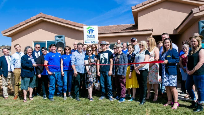 Habitat for Humanity of Southwest Utah dedicated its 22nd home March 29, 2018.