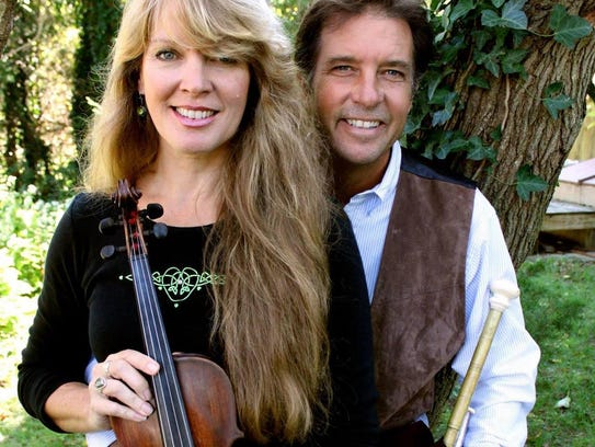 Celtic music by Jenny and Phil is coming to Lower Forge
