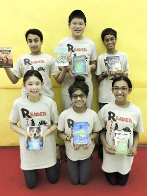 The first-place team was the Reader Raiders from Hillside Middle School.
