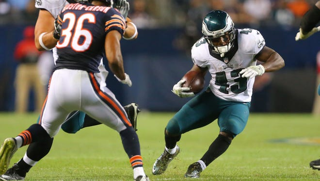 Eagles running back Darren Sproles could see more touches in Week 3 against a Steelers defense that's had trouble covering receivers out of the backfield.