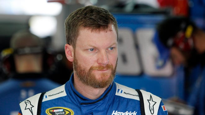 Dale Earnhardt Jr. was frustrated and animated after he finished four laps down Sunday at Charlotte Motor Speedway.