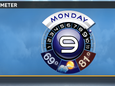 Mondays Forecast