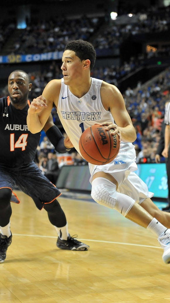 Moss Point native Devin Booker is one of six men's