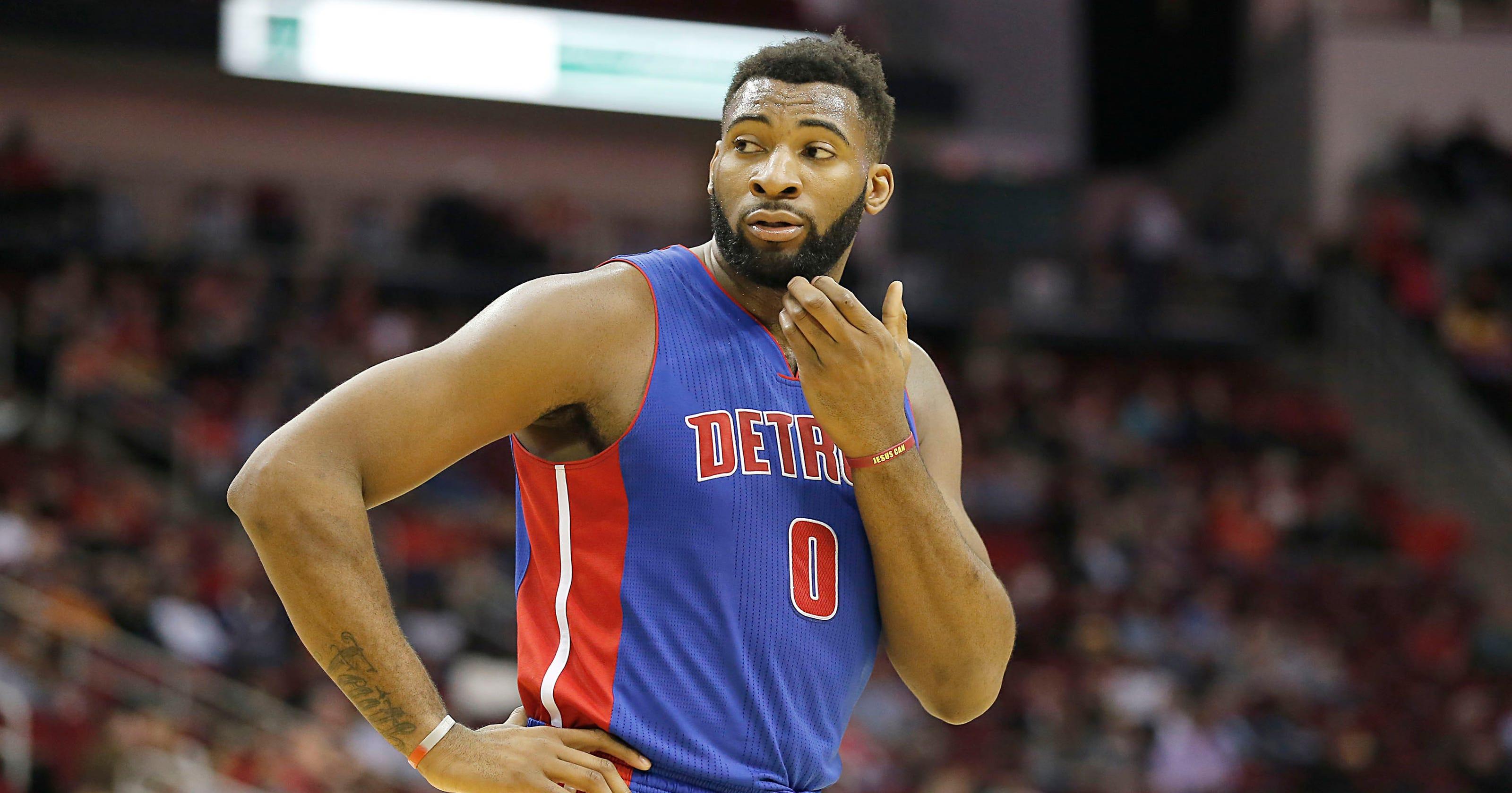 Detroit Pistons  Andre Drummond named NBA All-Star reserve 37663c399