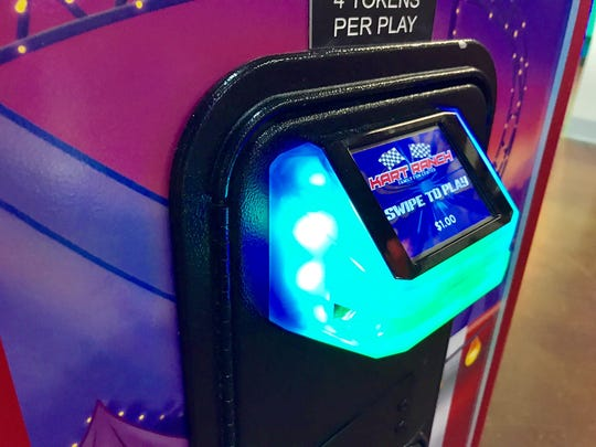 A ticketless card playing system has been installed in arcade games at Kart Ranch as part of the improvements.