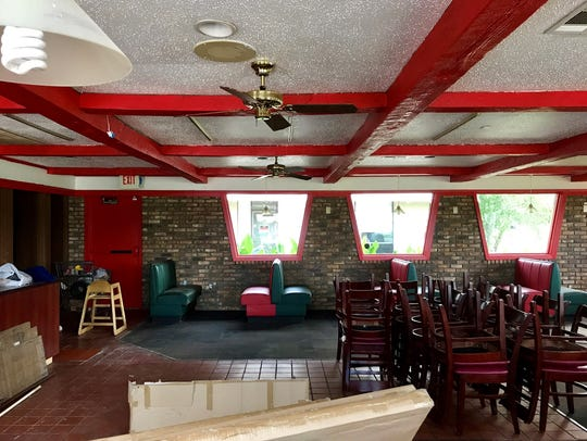 The inside of the soon to be Sam's Southern Eatery.