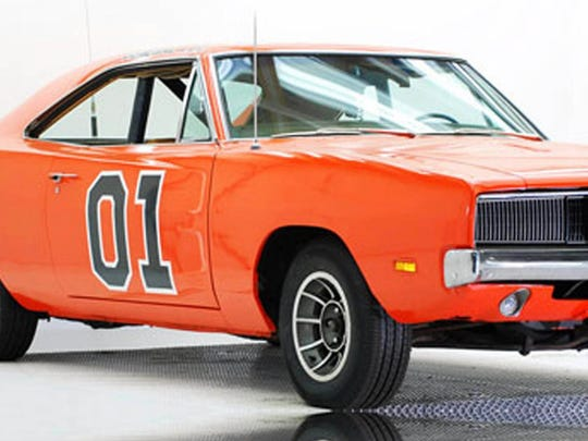 The General Lee will be appearing at Autorama this weekend.