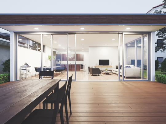 New windows or sliding glass doors can earn you more