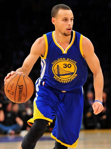 Golden State Warriors guard Steph Curry is averaging