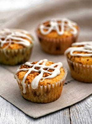 The best part of a cinnamon roll in a muffin